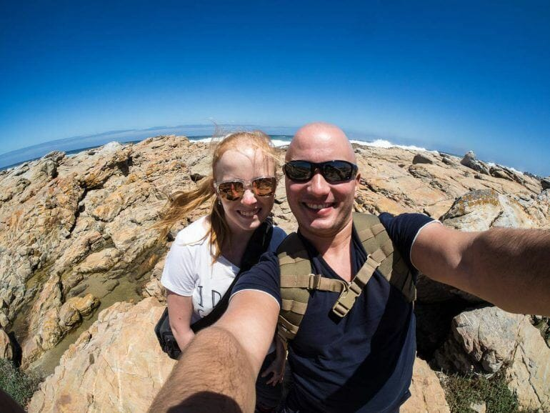 Sandra und Stephan in Cape St. Francis