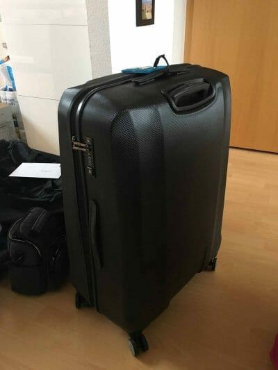Titan Koffer in schwarz