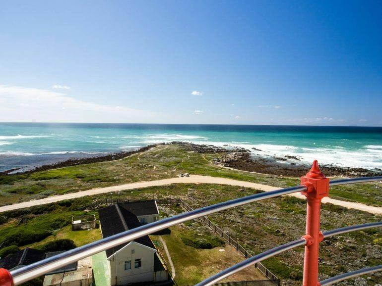 Aussicht vom Leuchtturm Cape Agulhas