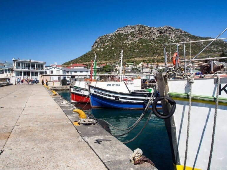 Hafen von Kalk Bay