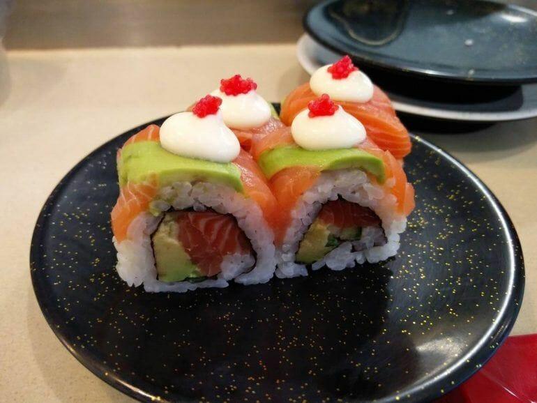 Sushi in der Canal Walk Mall