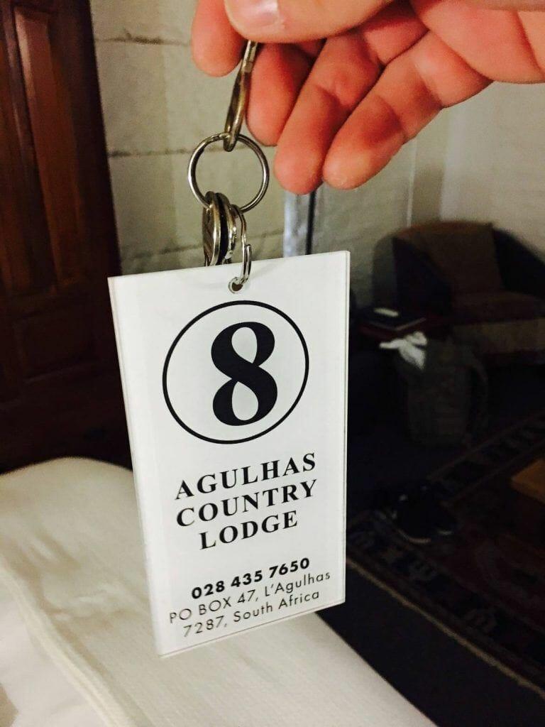 Schlüsselanhänger in der Agulhas Country Lodge