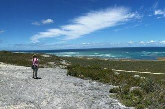 Cape Agulhas Aussicht von der Sanddüne
