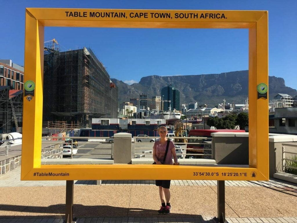 Table Mountain View an der V&A Waterfront in Kapstadt