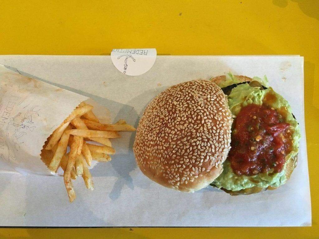 Burger bei Redemption Burger