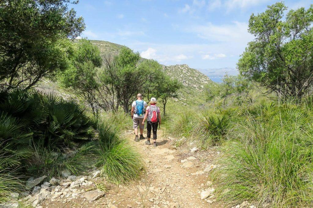 Wanderung Halbinsel Alcúdia auf Mallorca