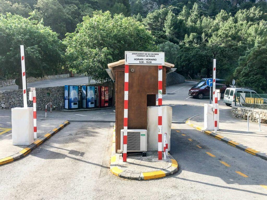 Parkplatz Torrent de Pareis