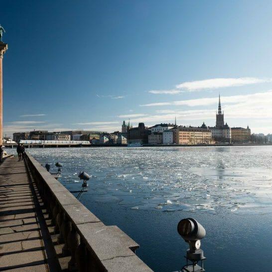 Stockholm, Blick über Riddarfjärden