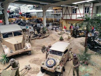 Militärbereich im Technikmuseum Sinsheim
