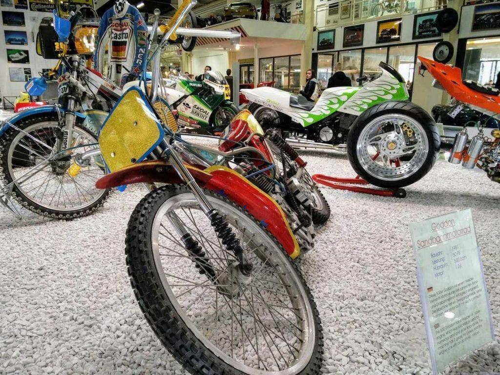 Motorräder im Technikmuseum Sinsheim