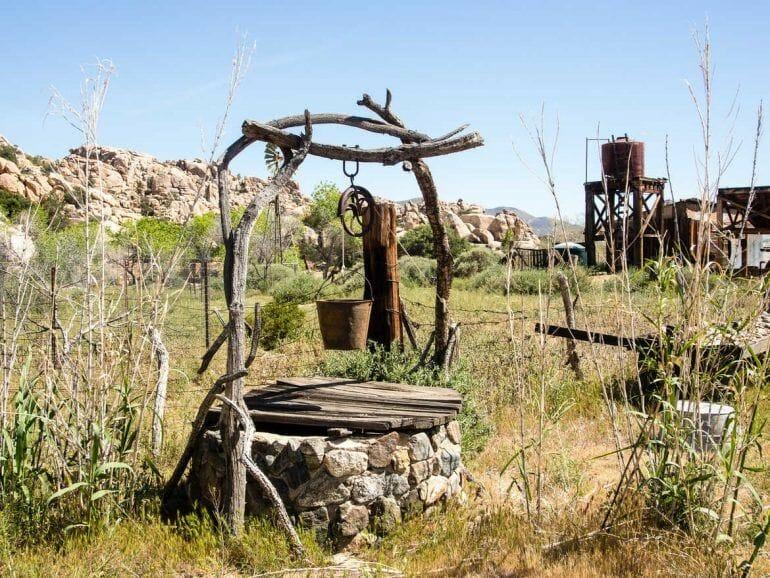 Brunnen auf der Keys Ranch im Joshua Tree Nationalpark