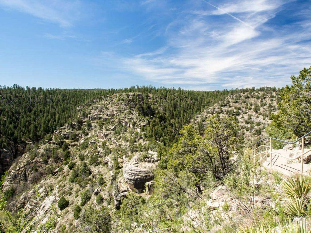 Walnut Canyon bei Flagstaff, Island Trail