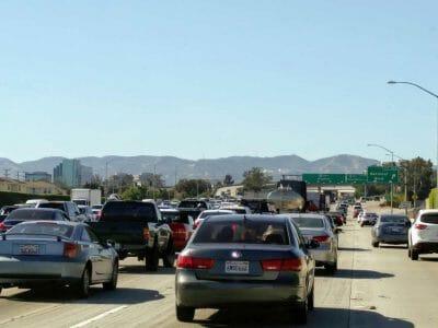 Traffic Jam Los Angeles