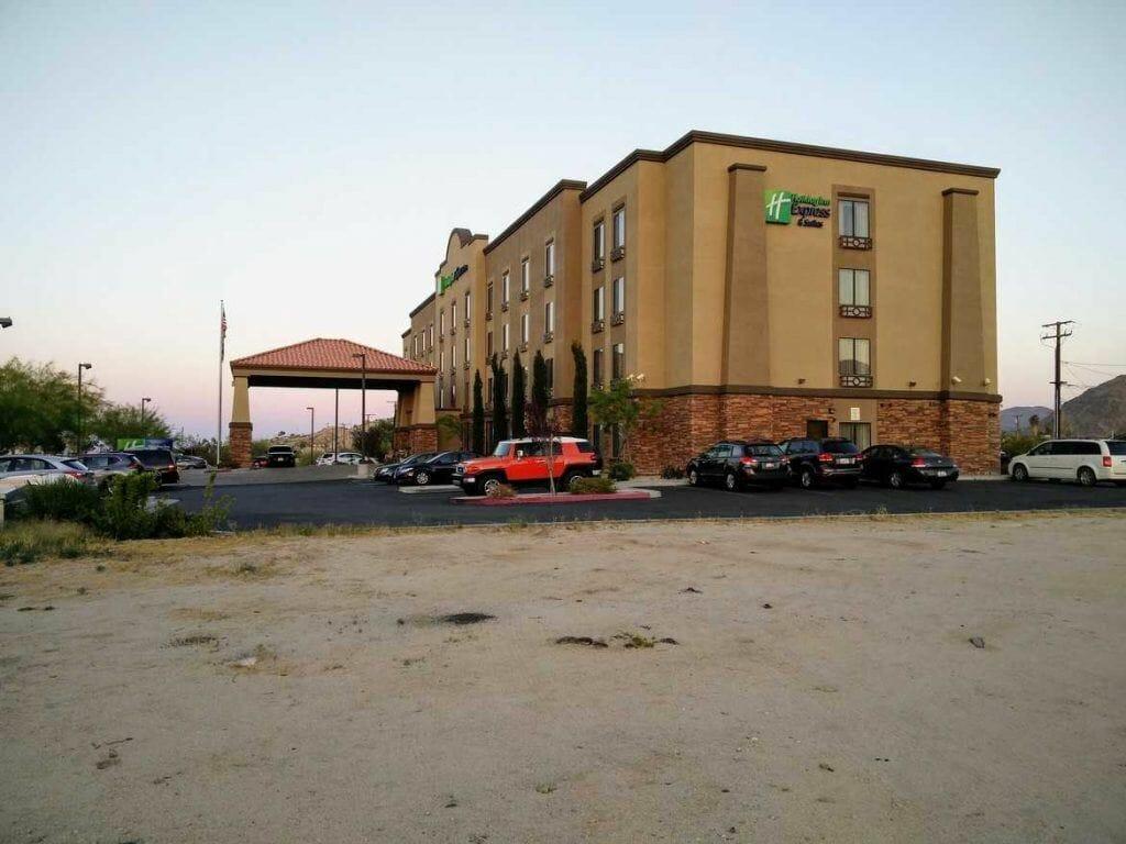 Holiday Inn Express in Twentynine Palms Außenansicht