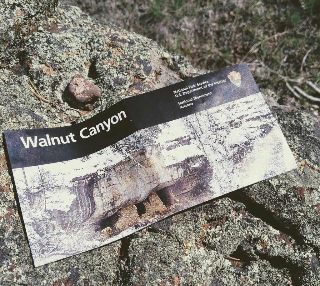 Walnut Canyon Map