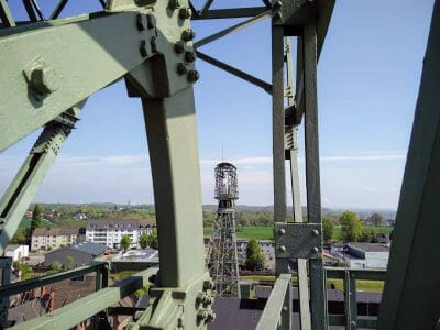 Förderturm Zeche Zollern in Dortmund