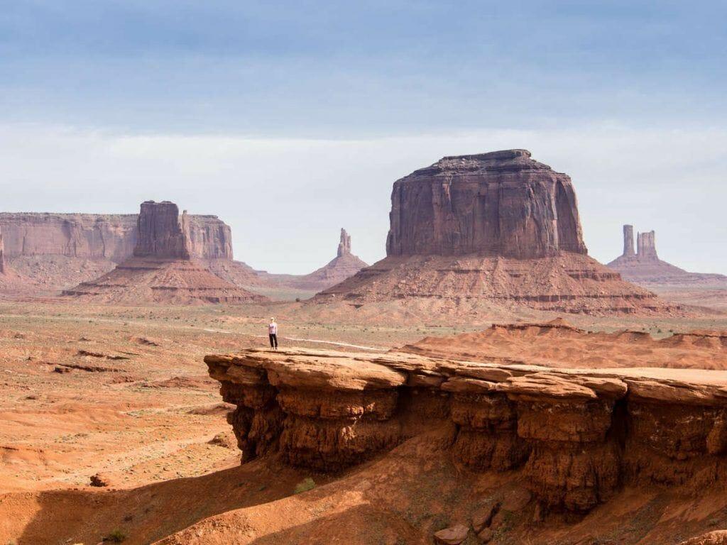 John's Ford Point im Monument Valley