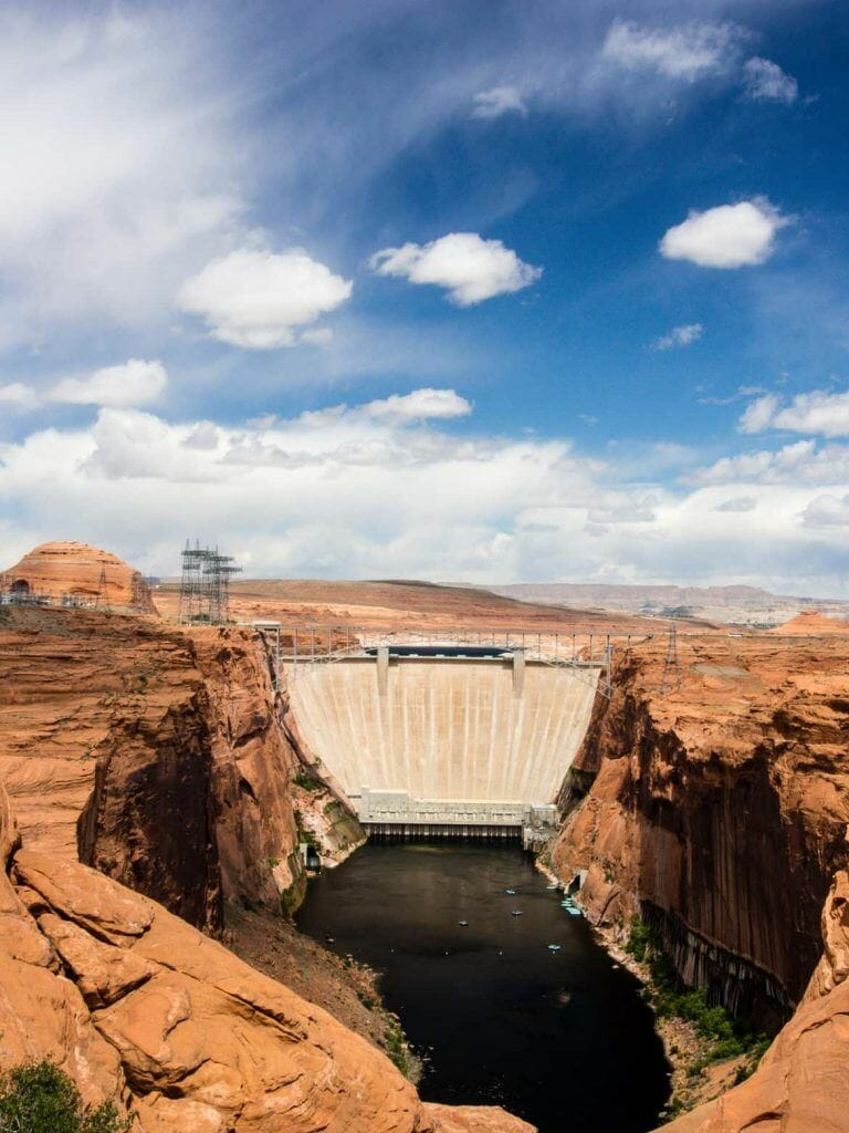 Glen Canyon Dam in Page