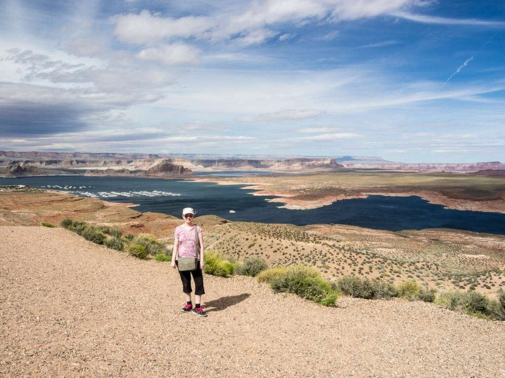 Aussichtspunkt Lake Powell in Page