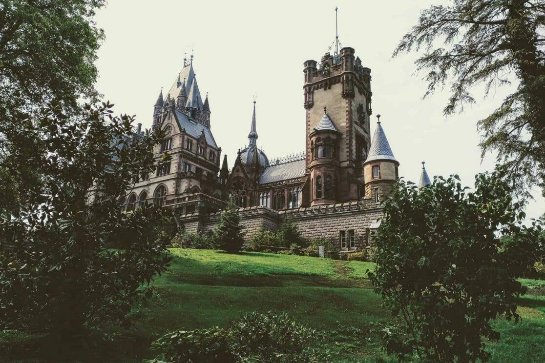 Außenansicht Schloss Drachenburg