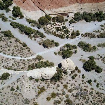 Aufnahme Drohne im Red Rock Canyon