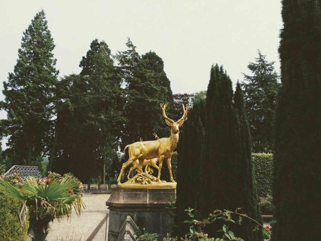 Garten Schloss Drachenburg