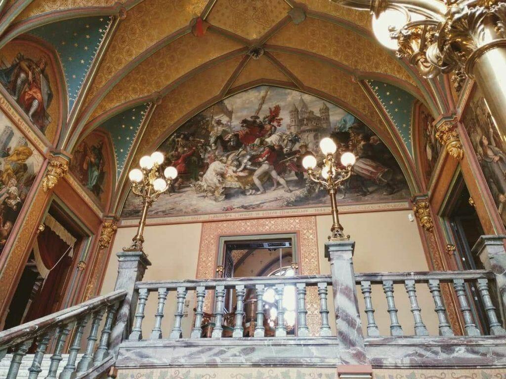 Eingangshalle Schloss Drachenburg in Königswinter