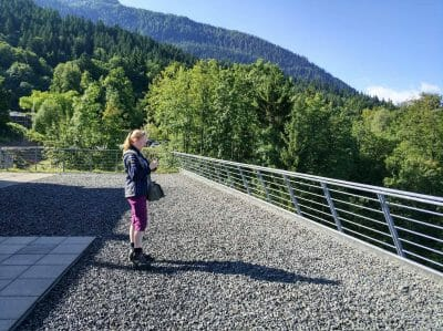 Terrasse Doumentation Obersalzberg