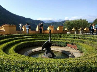 Garten von Schloss Hohenschwangau