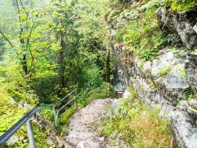 Weg zum unteren Tatzlwurm Wasserfall