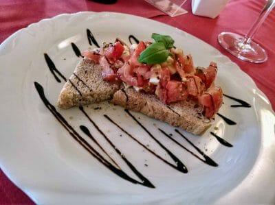 Bruschetta im Porto Bello in Reit im Winkl