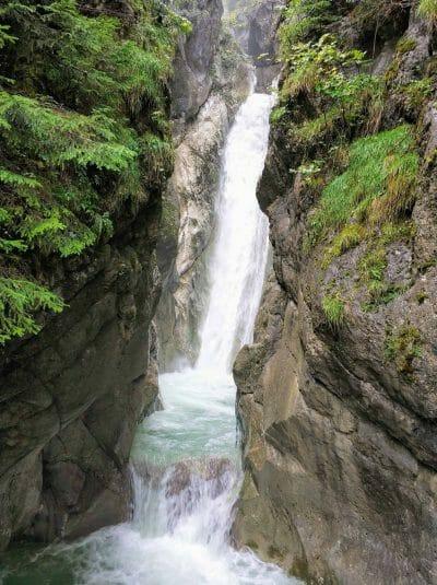 Tatzlwurm Wasserfall