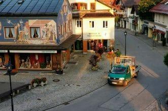 Ortsbild Oberammergau