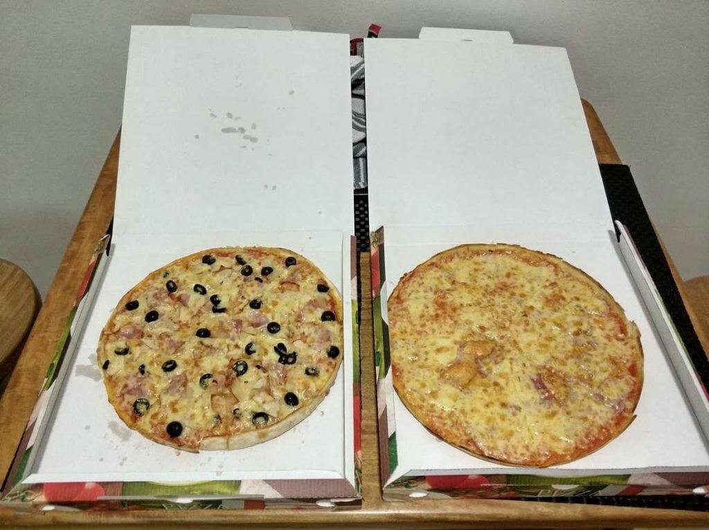 Pizzen der Island Pizzeria auf Praslin Seychellen