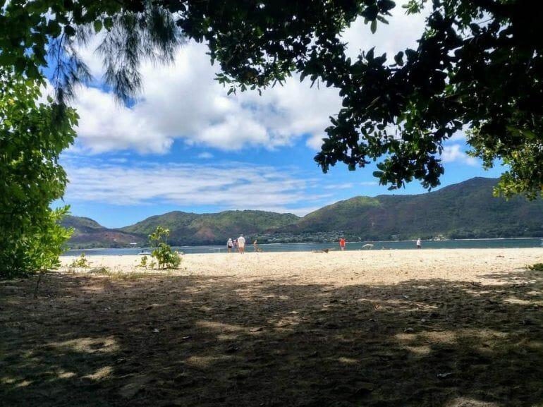 Anse Volbert auf Curieuse Seychellen