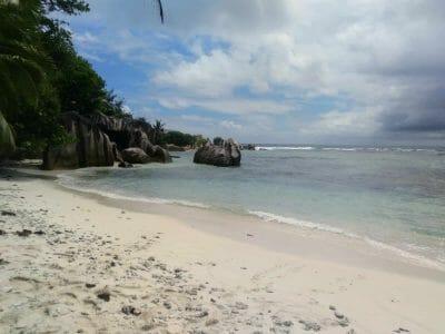 südlicher Teil von La Digue Seychellen