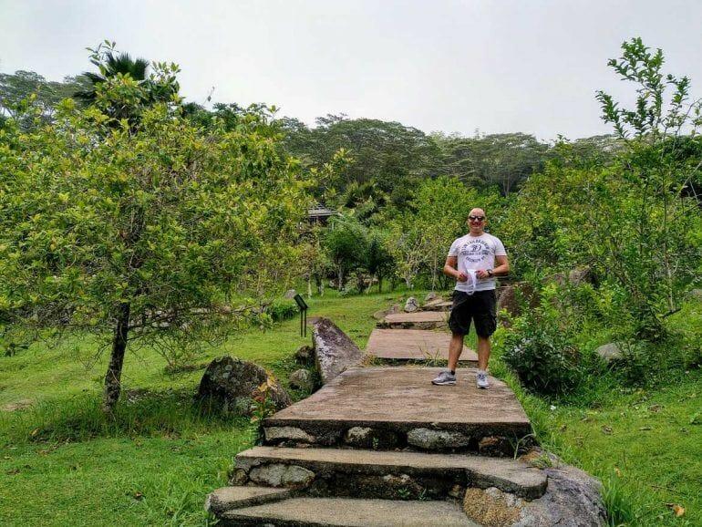 Jardin du Roi Gewürzgarten auf Mahe Seychellen