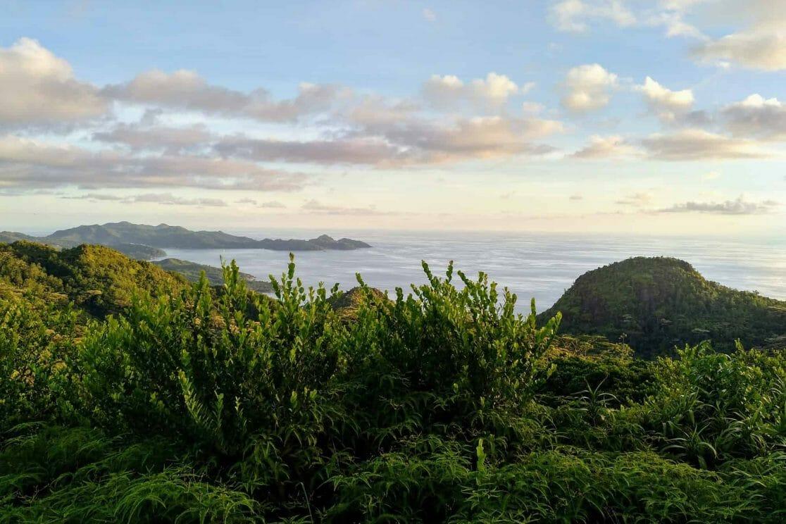 Mission Lodge Aussichtspunkt auf Mahe Seychellen