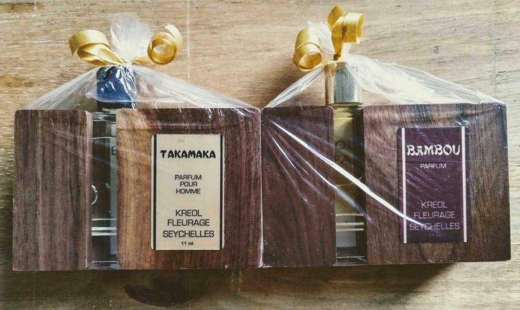 Kreolfleurage Duft Takamaka und Bambou auf Mahe Seychellen