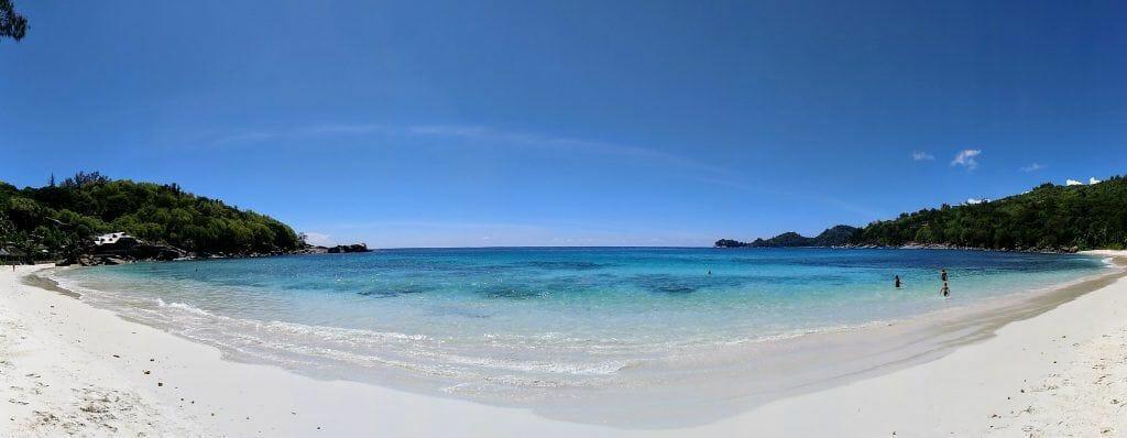 Anse Takamaka auf Mahe Seychellen