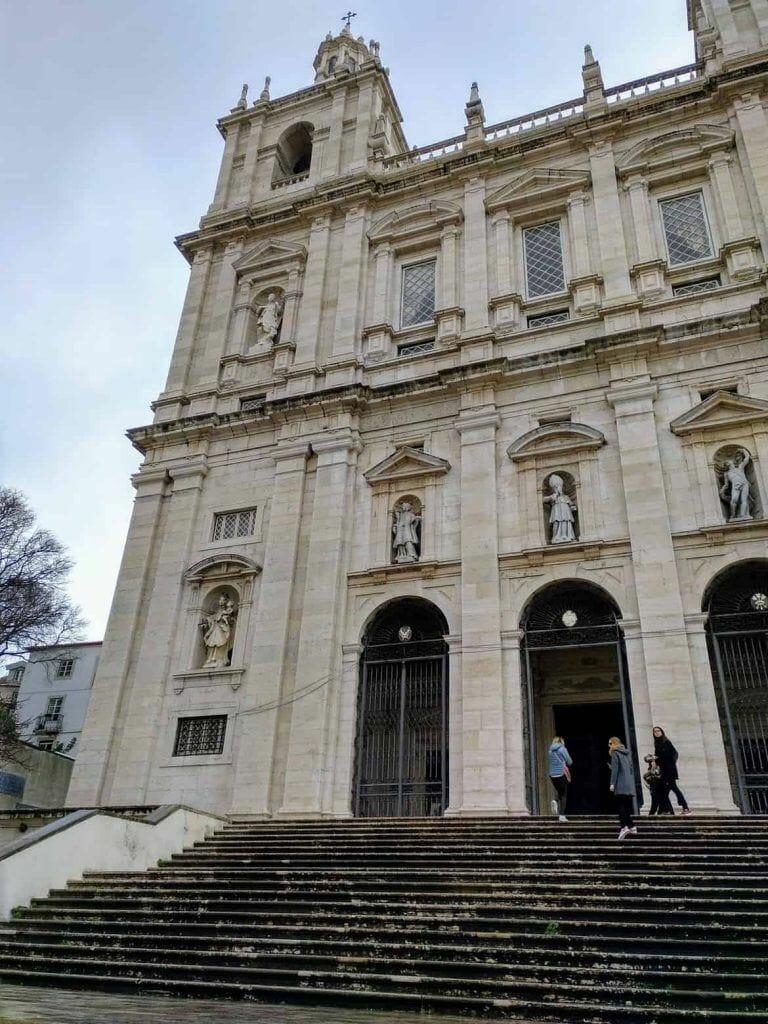 Kirche Sao Vicente da Fado in Lissabon Portugal