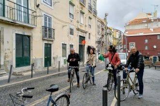 Retro Fahrradtour Lissabon Portugal