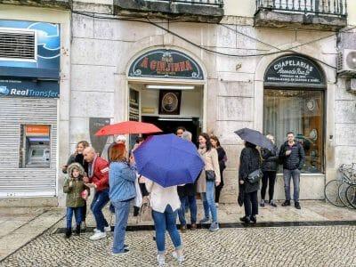 A Ginjinha in Lissabon Portugal