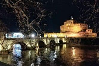Engelsburg in Rom Italien