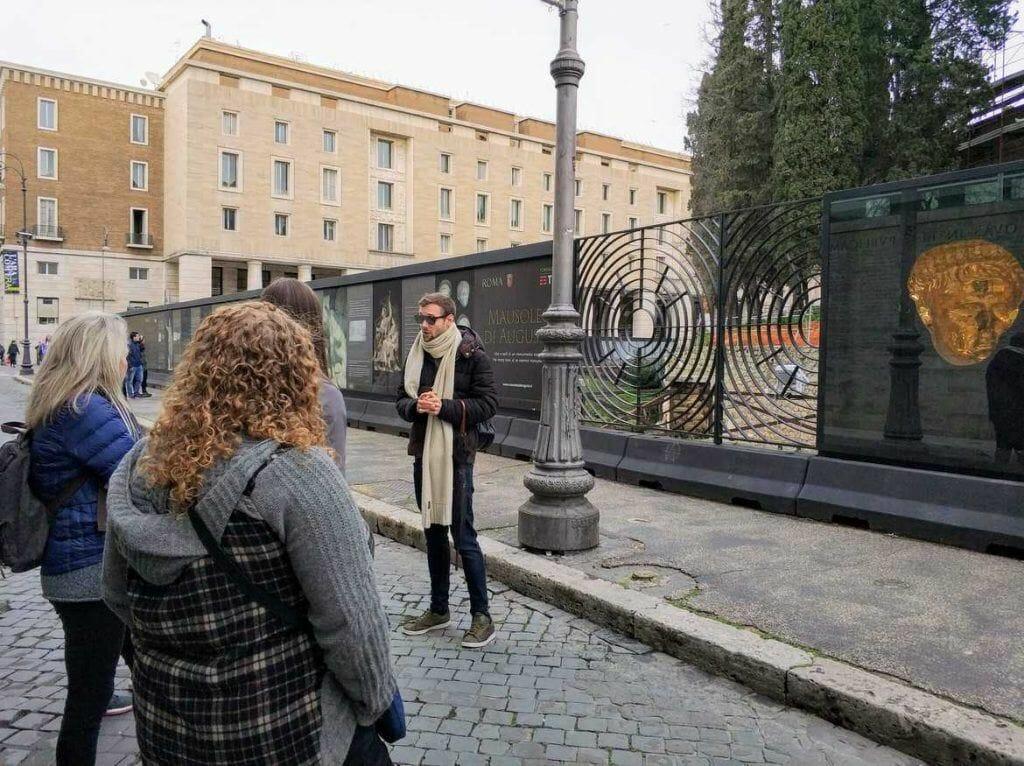 Mausoleum Augustus in Rom Italien