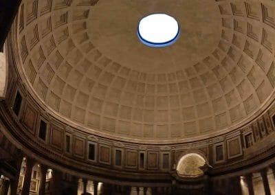 Kuppel es Pantheon in Rom Italiena