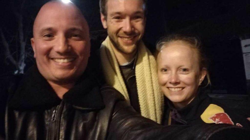 Selfie mit Tourguide Nick in Rom Italien