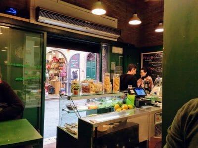Innenansicht Pasta Imperiale in Rom Italien