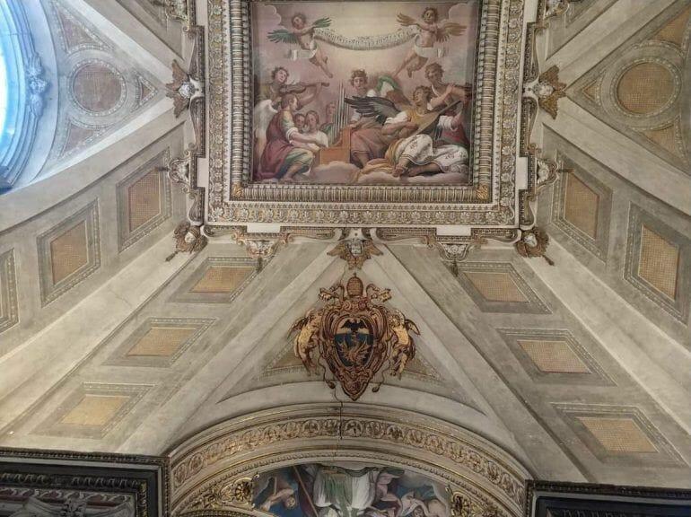 Gemälde Basilica Papale di Santa Maria Maggiore in Rom Italien