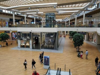 Shopping Center in Arese Italien